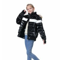 OrangeMom 브랜드 십대 겨울 코트 화이트 오리 8-18 년 동안 어린이 재킷 아래로 어린이 재킷을 입은 소년 소녀 옷 따뜻한 파카 엄마와 나 G0913