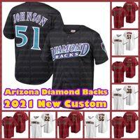 Diamond Backs Jerseys Arizona 56 Kole Calhoun 23 ZAC Gallen 53 Christian Walker 5 Eduardo Escobar 13 Asdroubal Cabrera Randy Johnson