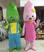 Halloween Bamboo Shoots Mascot Costume Top Quality Animal theme character Carnival Adult Size Fursuit Christmas Birthday Party Dress