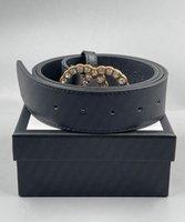 2021 رجل الأزياء مصمم العلامة التجارية حزام مربع نوع السيدات الترفيه إلكتروني كبير الذهب مشبك أحزمة الفاخرة AAA +++ 688