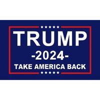 2024 Bandera de Trump U.S. Elección general Banner 2 Grómoles de cobre Save America de nuevo Banderas Poliéster al aire libre Decoración interior 90 * 150 cm / 59 * 35 pulgadas JY0593