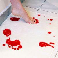 Кровяная ванна для ванны крови следы без скольжения коврик творческий коврик крови ванные продукты Y200407