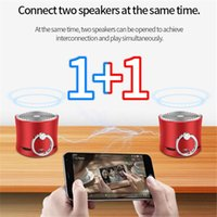 A2 Küçük Bel Bluetooth Hoparlör Subwoofer Mini Kablosuz TWS Interconnection Bilgisayar Taşınabilir Açık Hoparlörler