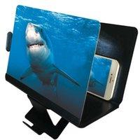 Supporti per telefoni cellulari Supporti Desktop Holder Stand Universal Mobile Screen Legnificatore 3D ingranditore ingranditore video