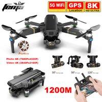 1.2km Kai1 Pro GPS DRONE con cámara 8K HD 4K Video 5G WiFi FPV Larga distancia Sin escobillas Quadcopter Drone Professional