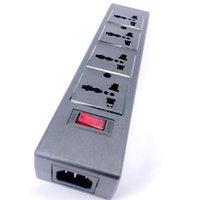 Smart Power Plugs 4 Wege PDU-Streifen Universal mit Überlastschutz-Port-Sockelausgangs-Aussteigerung des Leistungsschalters Switche