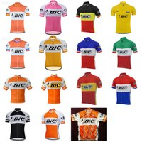 BIC Team PRO PRO Cycling Jersey Tops Mens Summer Cycling Abbigliamento Ropa Ciclismo Manica corta MTB Bici Bici Jersey Maillot Ciclismo 101904
