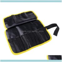 Fishing Sports & Outdoorsfishing Jig Lure Bags Pockets Tackle Gear Bag 12 Holes Roll-Up Organizer Saltwater Aessories Drop Delivery 2021 J5B