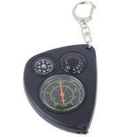 Открытые гаджеты портативный одометр многофункциональный брелок Travel Compass