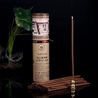 50pcs / Box Tibet Tempel Handgefertigte Räucherstäbchen Lindert Angst Segnungen Guter Geruch Ziehen Negativer Energie Buddhistischer Duft
