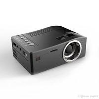 Neue UNIC UC18 Mini LED Projektor Tragbare Taschenprojektoren Multi-Media Player Home Theater Spiel Unterstützt HDMI USB