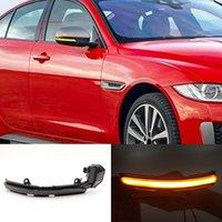 2PCS LED Dynamic Turn Signal Light For Jaguar XE XF XJ F-TYPE XK XKR I-PACE X250 X260 Side Mirror Indicator Lamp Blinker
