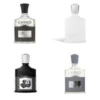 100ml Uomo Profumo Creed Aventus Colonia 10th Aventus Anniversary Sliver Montain Fragrance Fragrance Versione alta qualità Top Quality Long Lasting 3.3fl oz