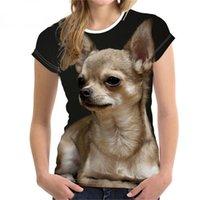 3D Print DIY Customized Fashion Lovely Dog T shirts Designer Women Ladies Girls T-Shirt Animal Harajuku Round Neck Short Sleeve Unisex Summer Tops Tees