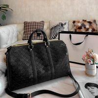 Дорожные сумки Мужская роскошная тиснение Duffel сумка мода наружный пакет с большим пространством крышки многофункциональная сумка сумки