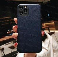أعلى مصمم الحالات الهاتف الجلود لفون 13 برو ماكس 12 ميني 11 xs xr x 8 7 زائد مصممي الأزياء طباعة الغلاف الخلفي الفاخرة المحمول قذيفة حالة حماية التغطية الكامل