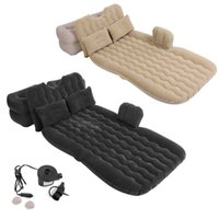 Outdoor Pads Inflatable Bed Mattress Camping Travel Car Back Seat Air Beds Cushion Beach Blanket Picnic