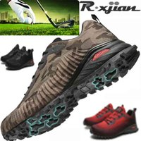 Golf shoes R. Xjian Brand And Year Gentlemen Shoes Breathing Men Training Sport Black Blue Outdoor Sp 0908