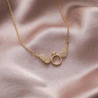 Chokers Korean Style Simple Creative Rhinestone Pendant Girl Clavicle Chain Necklace For Women Fashion Jewelry Accessories