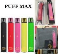 puff bar max disposable E-Cigarettes vape pen Device 2000 Puffs 1200mAh battery 8.5ml Pre-Filled Cartridges vapors 10Colors Factory Supply