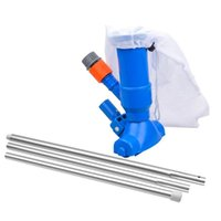 Pool & Accessories Vacuum Cleaner Kit Attaches To Garden Hose Portable Fountain Jet Cleaning Tools Supplies For