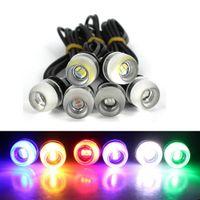 2pcs 오토바이 LED 나사 볼트 꼬리 면허 플레이트 빛 SMD 앰버 독수리 눈 3SMD 5630 LED 자동차 DRL 낮 실행 주행 신호