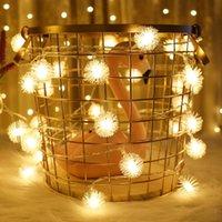 الهندباء أدى أضواء الجنية بطارية ضوء حديقة شرفة حزب خاص حزب عيد الميلاد سلسلة أضواء سلسلة الإضاءة الداخلية المنزل