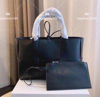 العلامة التجارية الدولية الشهيرة تصميم حقيبة تسوق المنسوجة سعة كبيرة تحمل أكياس بطاقة الجملة النساء أزياء شخصية حمل سلة خضروات الترفيه