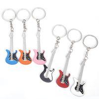 패션 쥬얼리 액세서리 기타 열쇠 고리 악기 키 버클 독창성 펜던트 장식품 열쇠 고리 금속 남성과 여성 1mo Y2
