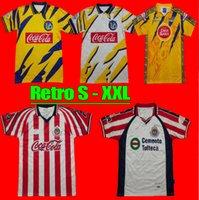 LIGA MX 2021 Tigres Unam Retro Club America Soccer Jerseys Gignac 21 22 Chivas Guadalajara O.Peralta Giovani Chemises de football