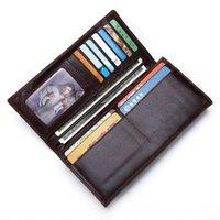 Wallets Women's Wallet Clutch Bag Large Capacity Long Zipper Multi-function Card Package Purse Red Handbag Slim