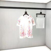2020SS Spring e Verão Novo Algodão de Alto Grau de Algodão de Alta Grade de Manga Curta Ronda Pescoço T-shirt Tamanho: M-L-XL-XXL-XXXL Cor: Preto Branco XZ24
