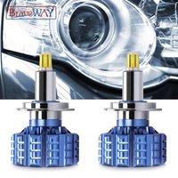 Braveway 360 Lighting Low Beam H1 H7 H11 HB3 / 9005 HB4 / 9006 HB4 / 9006 مع عدسة LED المصابيح الكهربائية Canbus Car For Projector