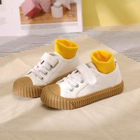 Sneakers Kids Shoes For Girl Canvas Casual Solid Color Children Non-slip