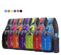 6 Colors Waterproof Small Chest Bag Pack Travel Sport Shoulder Sling Messenger Cross Bags