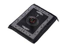 카펫 휴대용 방수기도 매트 무슬림 여행 포켓 이슬람 카펫 루겟 아랍