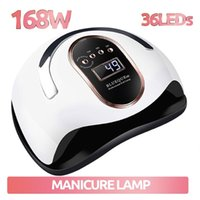 Nail Dryers Dryer UV Gel Polish Drying Lamp For Manicure Machine With Smart Sensing 36 LEDs Quick-drying Professional LED