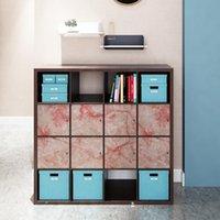 Bakgrundsbilder Självhäftande Multi-valfria möbler DIY Stickers Kök Vardagsrum Väggdekoration Oljebeständig kontaktpapper