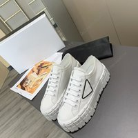 Womens Casual Schuhe Triple Black White Lady Sneakers Mode Wohnung Freizeit Leinwand Designer Sneaker Nylon Party Kleid Trainer