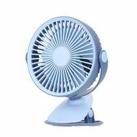 Elektrische Fans Multifunktionale Desktop Clip Fan Mini Tragbare Big Wind Kleine USB Wiederaufladbare Haushaltshandheld