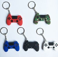 Fidget Pad Gamepads Keychain Toy Party Keyring Push Bubble Pop Controller Fidgets Hand Shank Game Controllers Joystick Finger Decompression Anxiety Toys