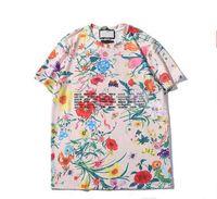 Erkek Kadın T-Shirt 21 Yeni Yuvarlak Boyun Nefes Eğilim Mektubu Stil Sıcak 3 Renkler Boyutu S-2XL Tops