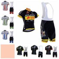 Kuota Team Cykel Kortärmad Jersey (BIB) Shorts Ställer in Andningsbar Mjukt hudvänlig mängd alternativ Accpet Custom 31714