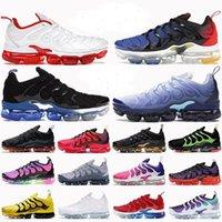 에어 vapormax TN 플러스 러닝 신발 남성용 여성 증기 최대 스포츠 스 니 커 즈 트리플 레드 와이드 블랙 하이퍼 로얄 화이트 VAPOURMAX 트레이너