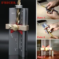 Professional Hand Tool Sets Multi-functional Woodworking Tools Height Gauge Limit Ring Installation Aid Drill Angle Measurer High Precision