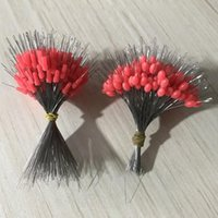 Fishing Accessories 300pcs lot Float Rubber Stopper Bobber Cylindrical Space Bean Fish Line