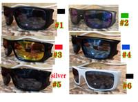 MOQ = 10pcs Hombre de verano Gafas de ciclismo al aire libre Mejores hombres Conducción Deporte Gafas de sol Unisex Motocicleta Gafas Gafas para mujer Envío gratis