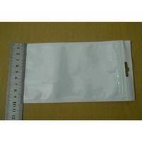 10 * 18cm Blanc / Clear Self Self Selfer Plastique Plastique Packaging Poly Sac Sac à glissière Bag Package de vente au détail W / Hang Hork Fo Jllrab Warmslove
