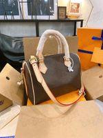 Nano speedy 25 30 35 travesseiro saco de compras de mulheres crossbody tote bolsa carteira bolsa luxurys designers bolsas de couro oxidar monogals bolsas para as mulheres bolsas de ombro