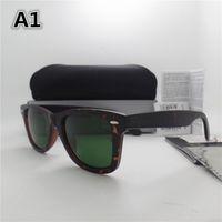 Glasses High Metal With Glass Hinge Quality Frame Women Mens Lens Vintage Sport Sunglasses Sun Plank Fashion Box UV400 Fcuft